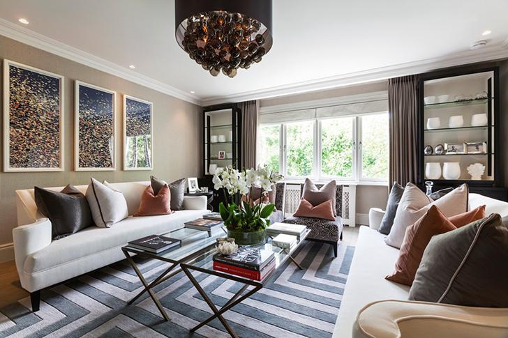 Cojines confort casas de lujo hoy lowcost for Decoracion de casas modernas y elegantes