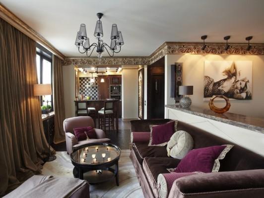 detalles salones casas lujosas
