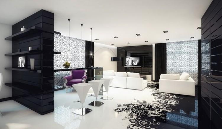 casas lujosas colores brillantes