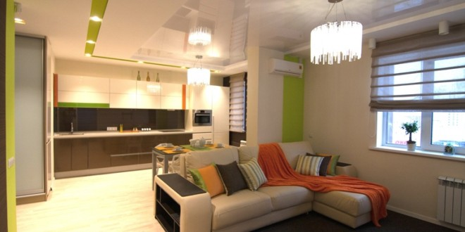 decoracion salon comedor con cocina integrada | Hoy LowCost