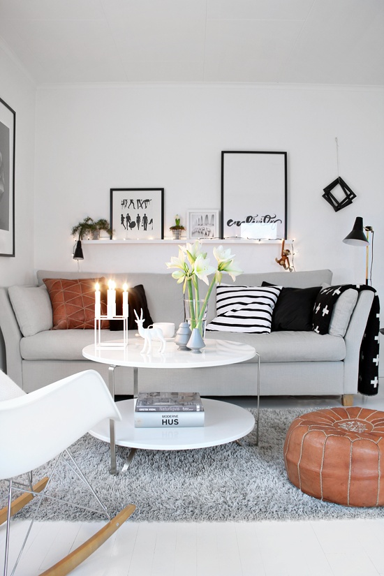 decoracion salon pequeño moderno