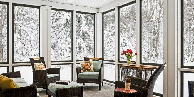 Cortinas de cristal. Maximiza el uso de tu terraza