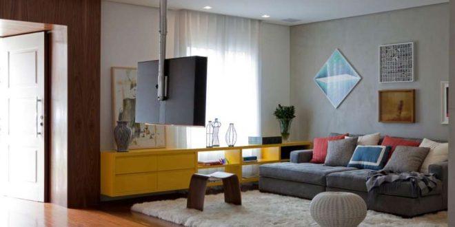 Decorar salones peque os con tv hoy lowcost - Como decorar salones pequenos ...