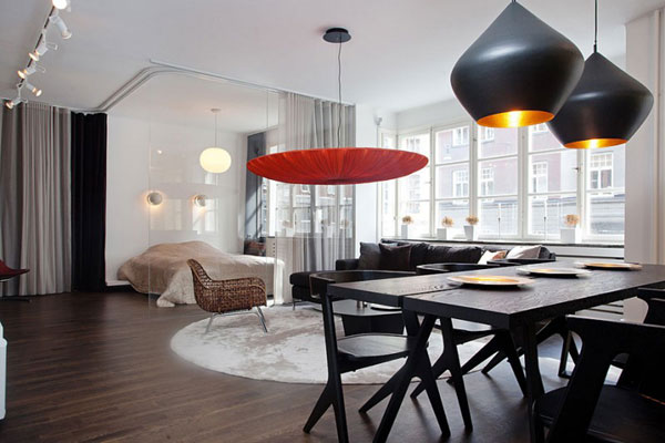 Ideas de dise o interior modernas y actuales hoy lowcost for Lamparas para apartamentos pequenos