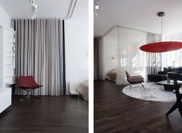diseño interior apartamento moderno