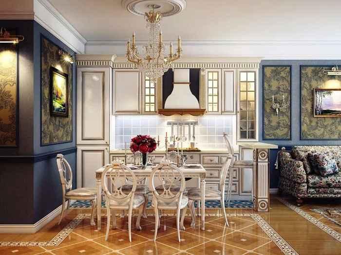 diseño interior clasico