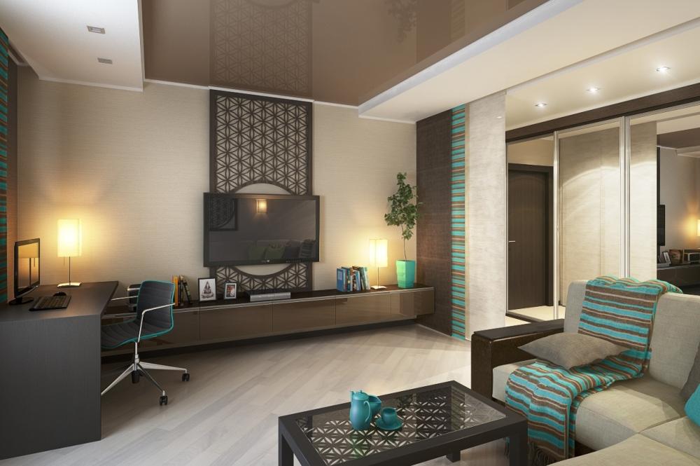 diseño interior de salon oficina