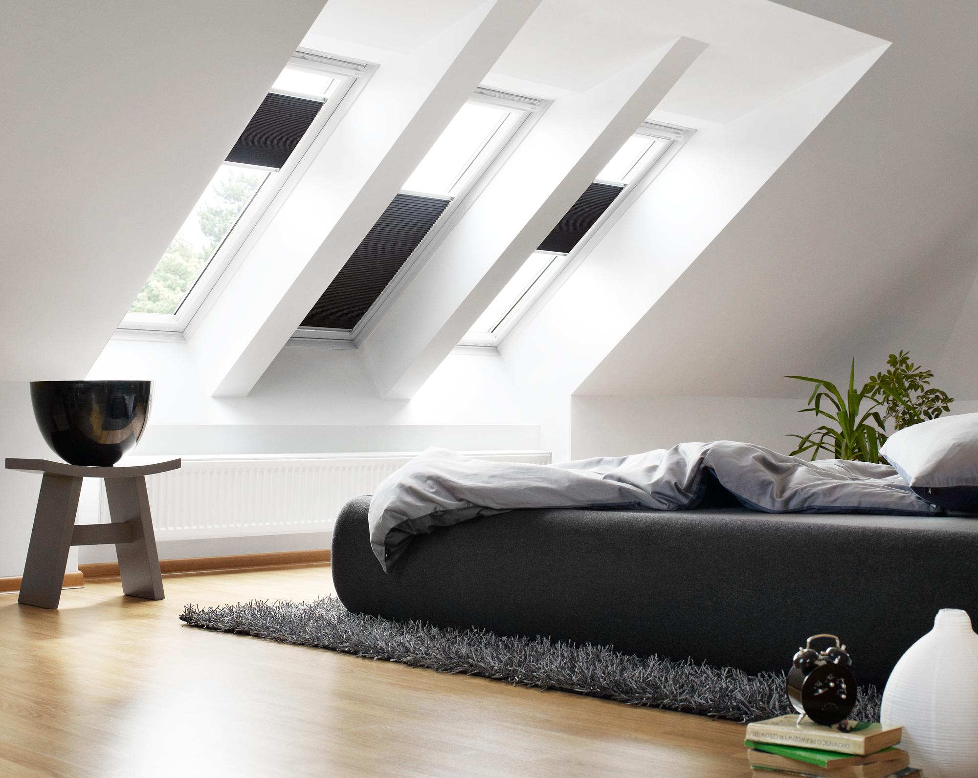 estores enrollables ventana tejado