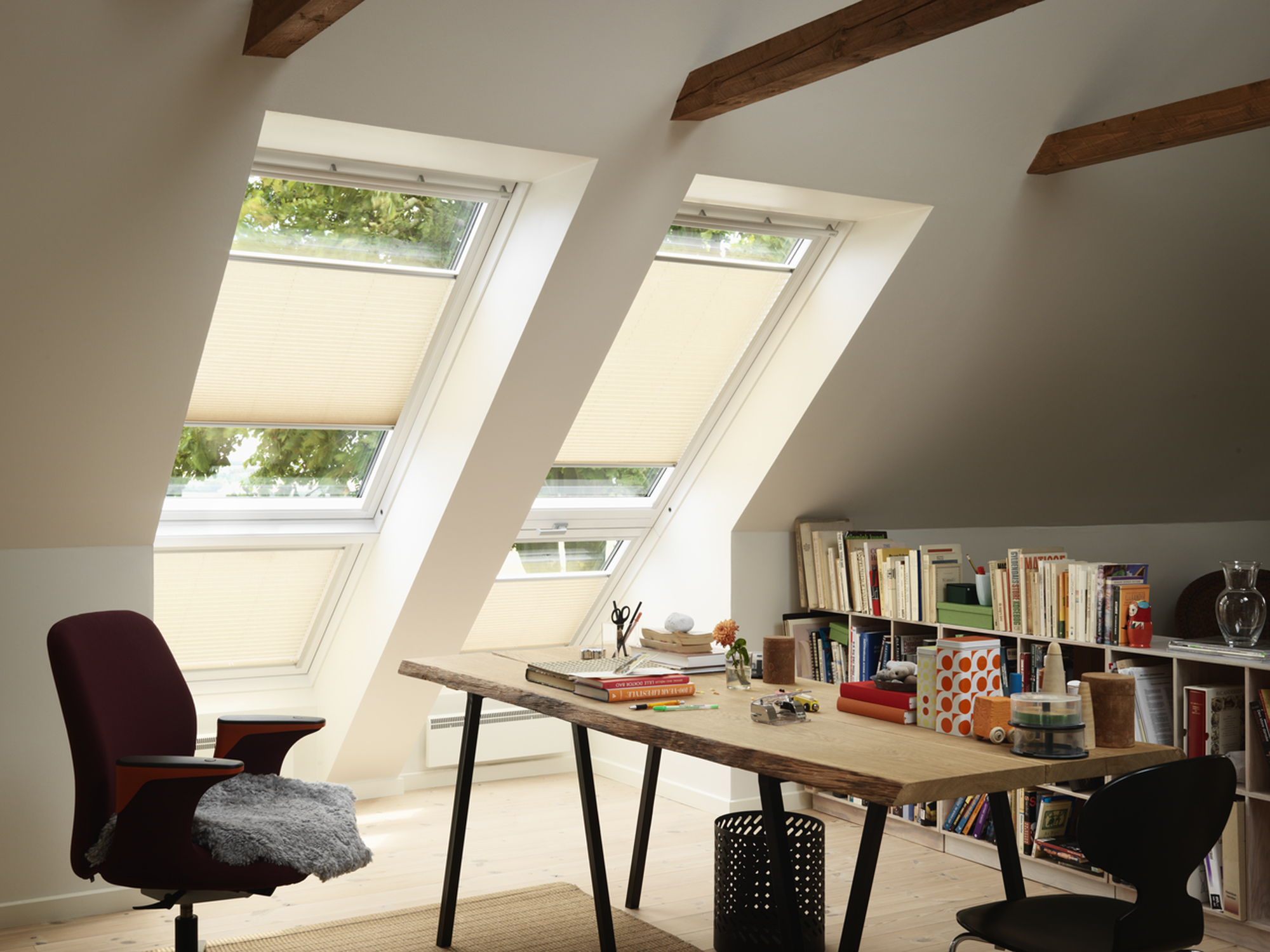 estores enrollables velux