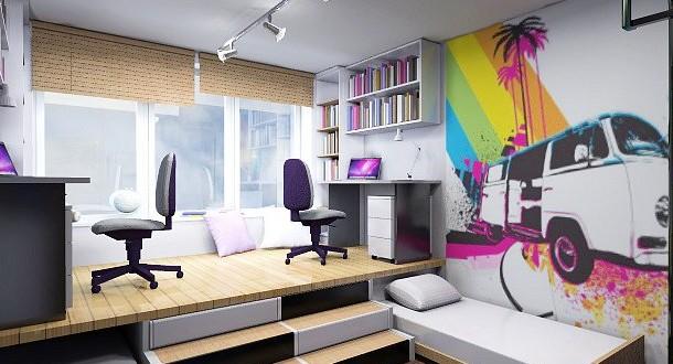 Iluminacion dormitorios juveniles hoy lowcost - Como decorar dormitorios juveniles ...