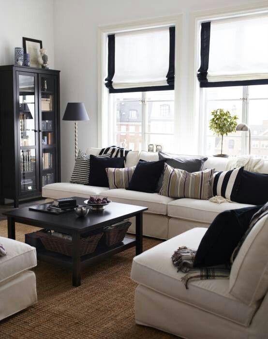 muebles oscuros salones pequeños