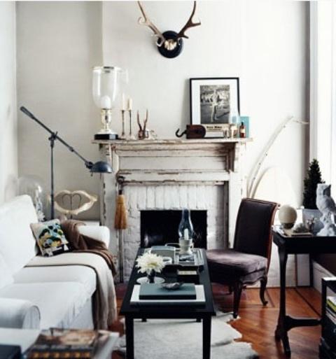 Como decorar un sal n 7 reglas de oro hoy lowcost - Como decorar un salon con chimenea ...
