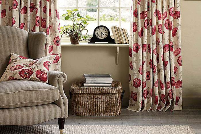 casas lujosas tapicerias
