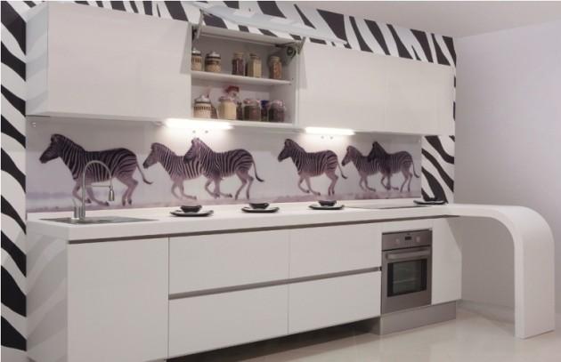 Cocinas blancas siempre en tendencia hoy lowcost - Papel vinilo para cocinas ...