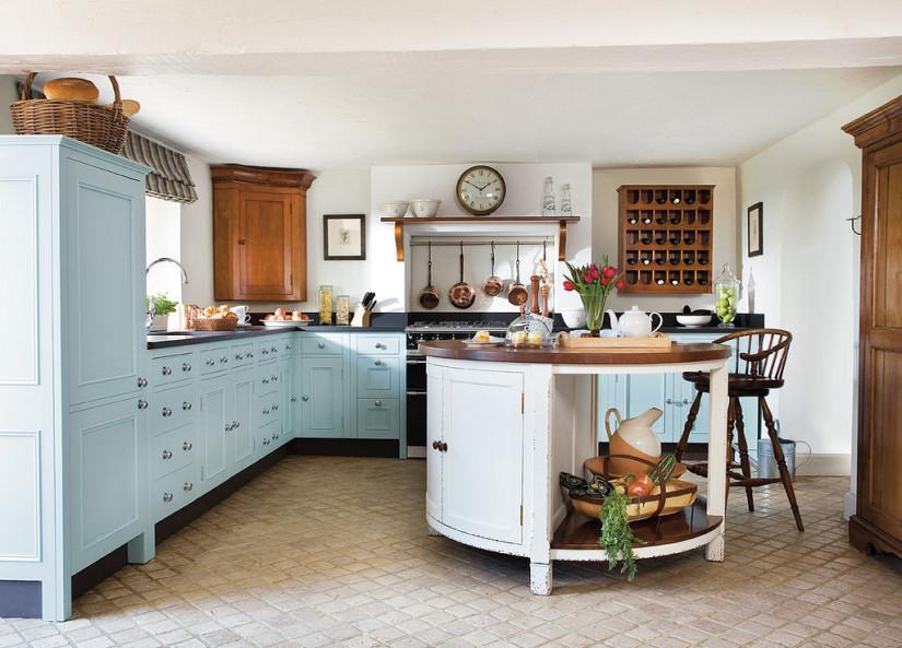 Cocinas blancas siempre en tendencia hoy lowcost - Cocinas retro vintage ...