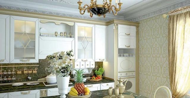 Cocinas blancas clasicas hoy lowcost for Cocinas blancas clasicas
