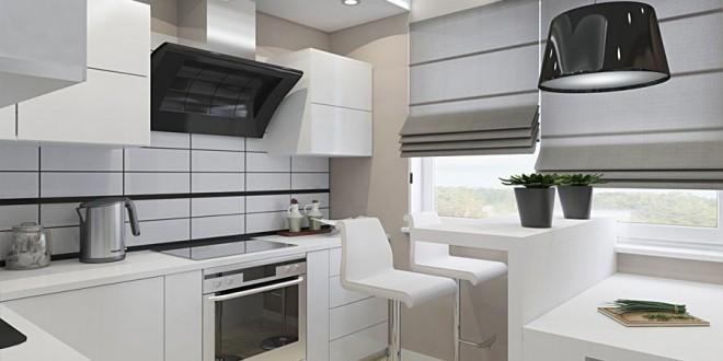 Cocinas blancas peque as hoy lowcost - Cocinas blancas pequenas ...