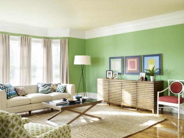 Colores para salones 2018 tendencias y consejos hoy lowcost for Pinturas interiores 2016