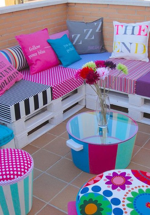 ideas decoracion palets