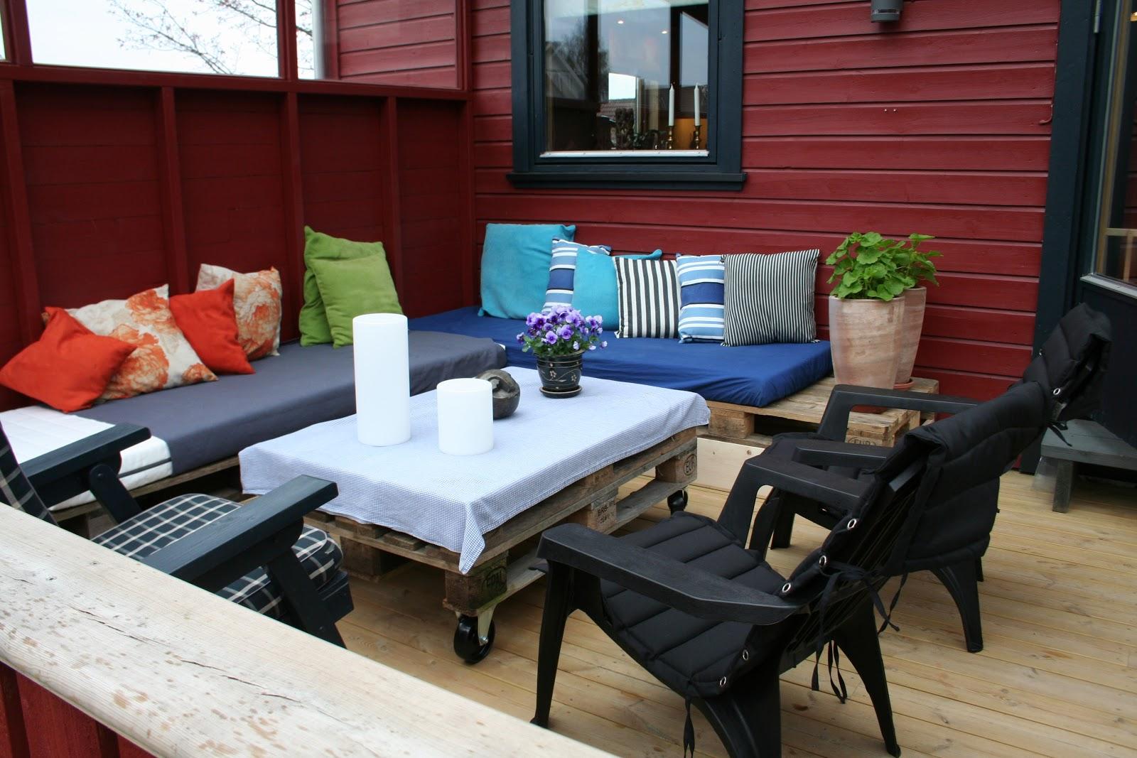 101 ideas de decoracion con palets hoy lowcost - Mueble para terraza ...