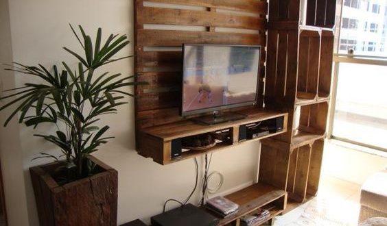 muebles palets tv - Muebles Palets