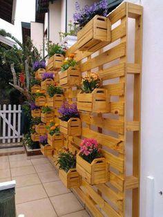 palets jardinera terraza