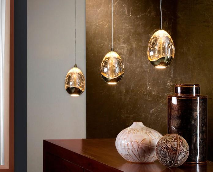Tipos de lamparas como elegir la correcta hoy lowcost for Disenos de muebles de cocina colgantes