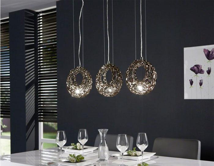 Tipos de lamparas como elegir la correcta hoy lowcost - Lampara para comedor techo ...