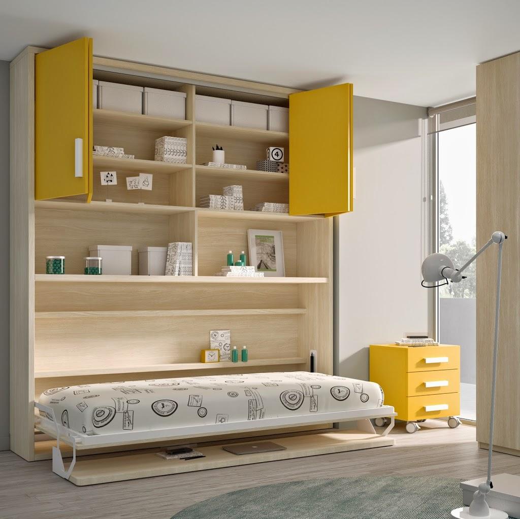 Literas Abatibles Soluci N En Habitaciones Compartidas Hoy Lowcost ~ Camas Abatibles Horizontales Ikea