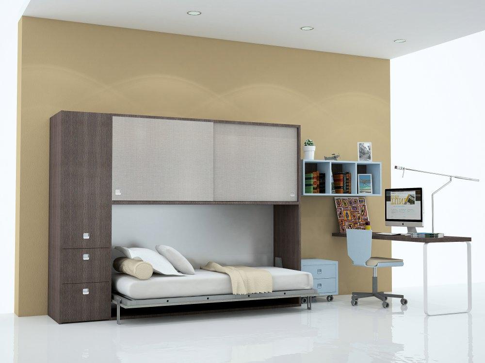 camas abatibles sencillas