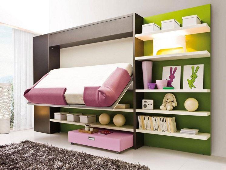 Literas abatibles soluci n en habitaciones compartidas - Soluciones para dormitorios pequenos ...