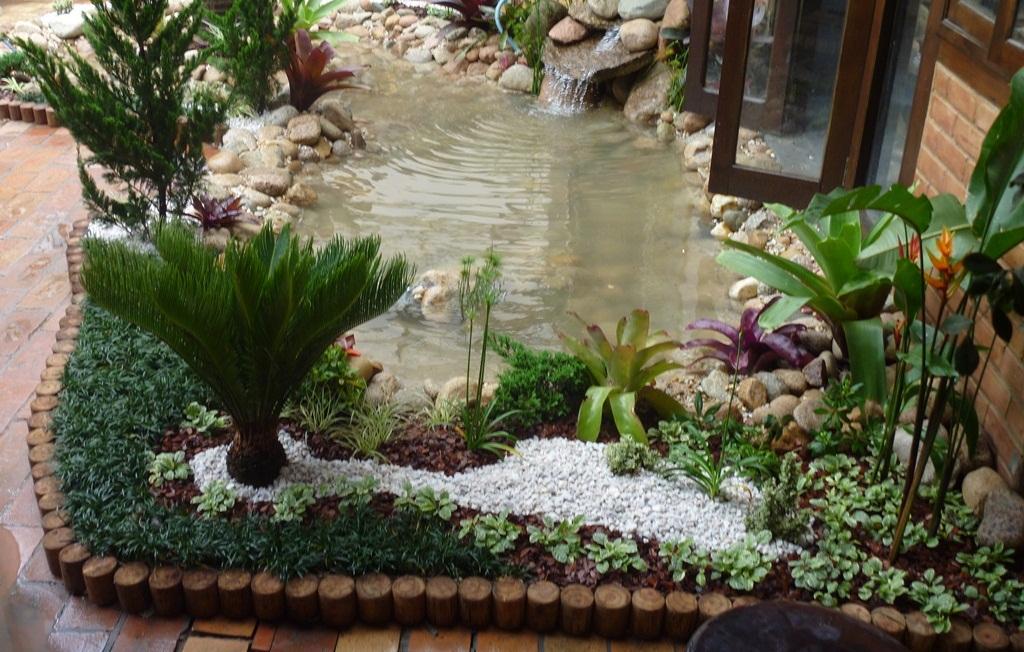 Decoracion de jardines rusticos beautiful adornos jardin - Ideas para jardines rusticos ...