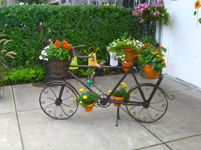 Detalles decoracion jardines rusticos hoy lowcost - Ideas para jardines rusticos ...