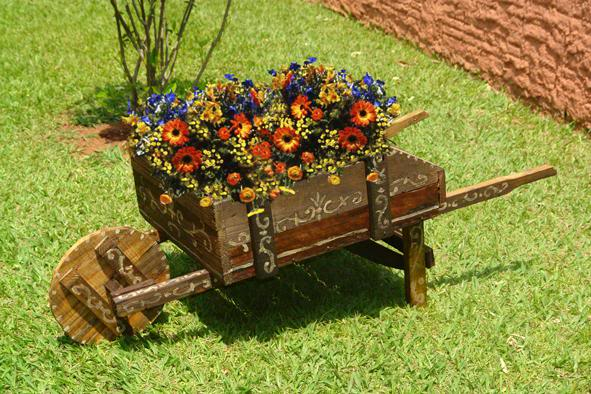 Jardines r sticos tendencia e ideas hoy lowcost - Accesorios para jardines pequenos ...