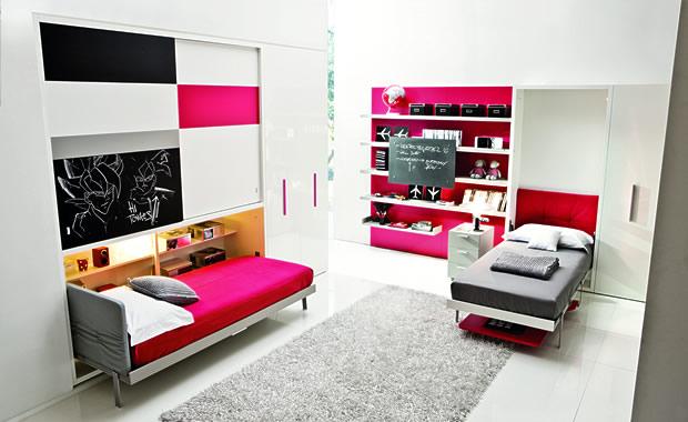 dormitorios camas abatibles verticales y horizontales