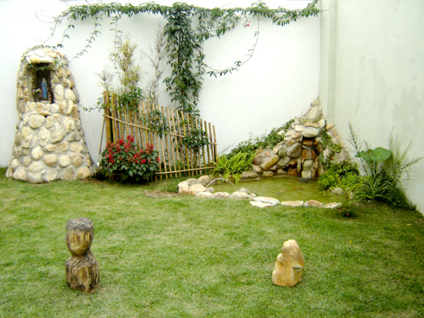 jardin rustico low cost