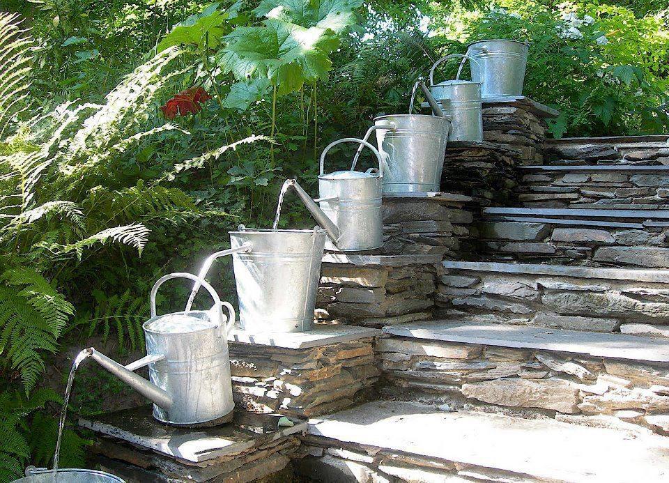 detalles jardines rusticos