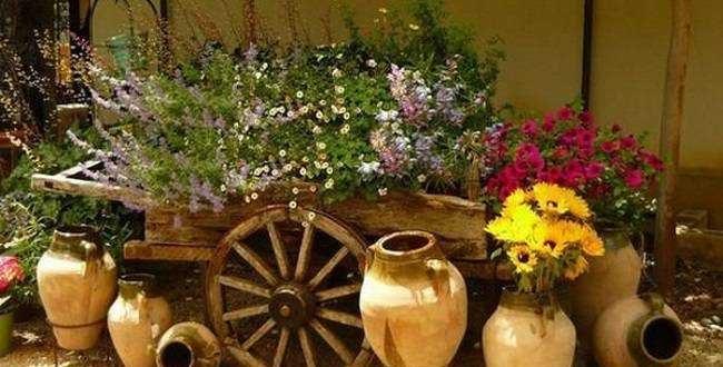 Ideas para decoracion jardines rusticos hoy lowcost for Ideas para jardines rusticos