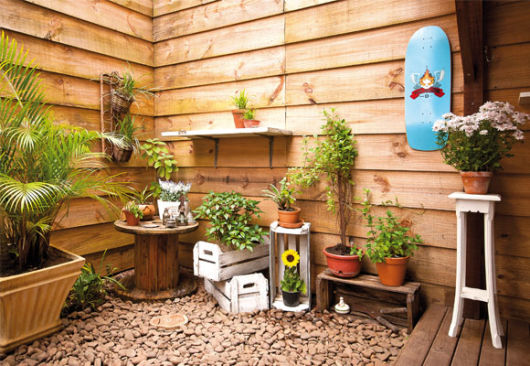 jardienes rusticos pequeños