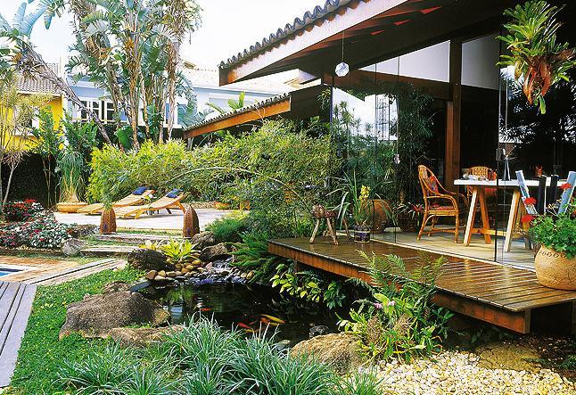 lagos artificiales jardines
