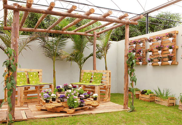 Jardines r sticos tendencia e ideas hoy lowcost for Jardin vertical barato