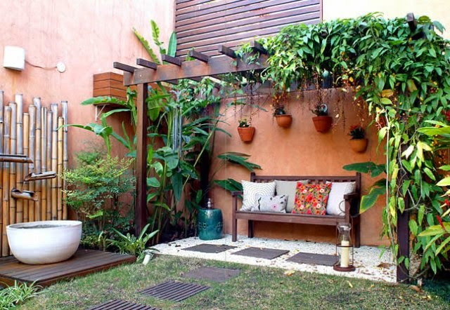 Jardines r sticos tendencia e ideas hoy lowcost for Decoracion casa judia