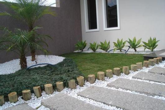 Jardines r sticos tendencia e ideas hoy lowcost - Decoracion de jardines con piedras ...