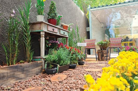 jardines baratos y sencillos