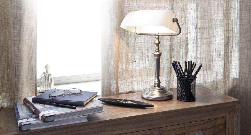 tipos de lamparas de escritorio