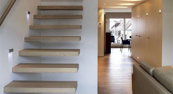 Tipos de lamparas como elegir la correcta hoy lowcost for Iluminacion escaleras interiores