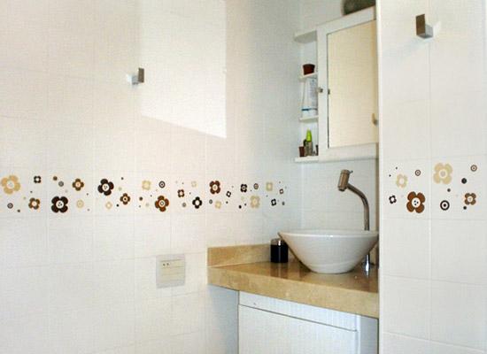vinilos baratos baños