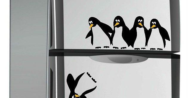 Vinilos decorativos pinguinos hoy lowcost for Vinilos baratos online