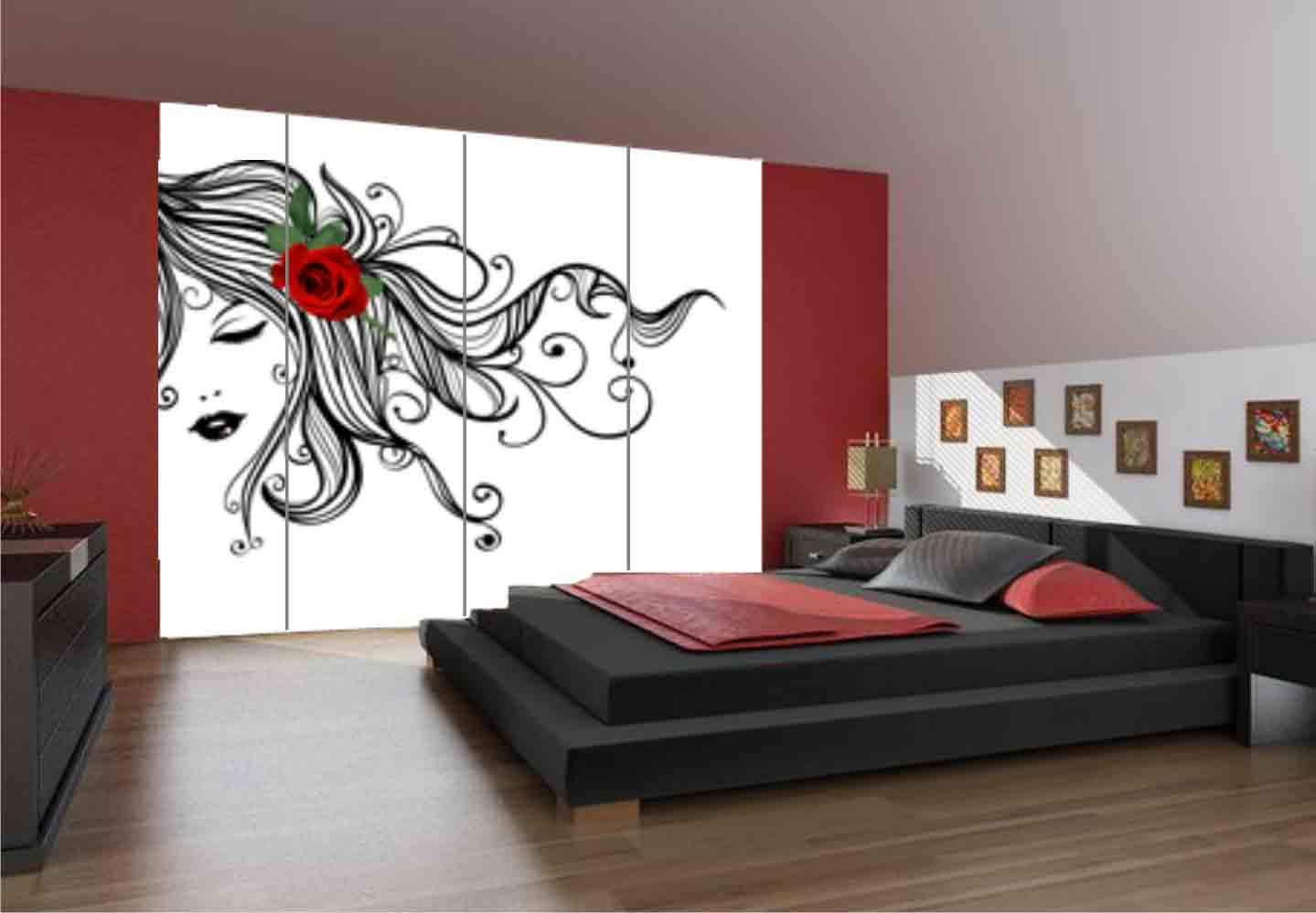 Vinilos baratos soluciones de lujo hoy lowcost for Pegatinas de decoracion para dormitorios