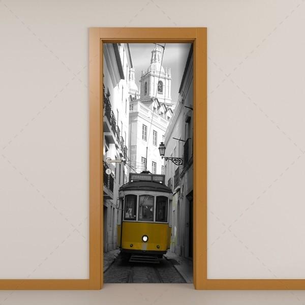 Vinilos puertas baratos materiales de construcci n para - Visillos para puertas ...